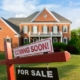 House exterior with For Sale sign