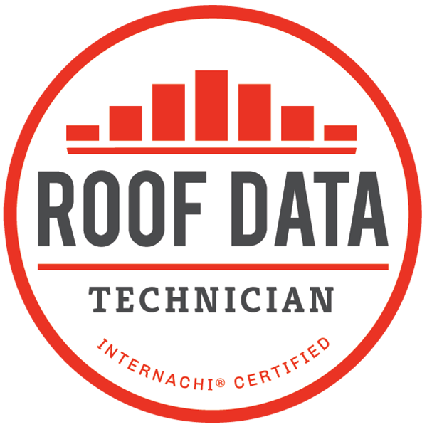 Roof Data Technication InterNACHI Certified Badge