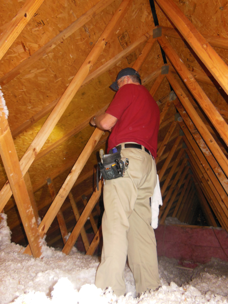 Home Inspection Professionals Southern and Central New Jersey Attic Inspection