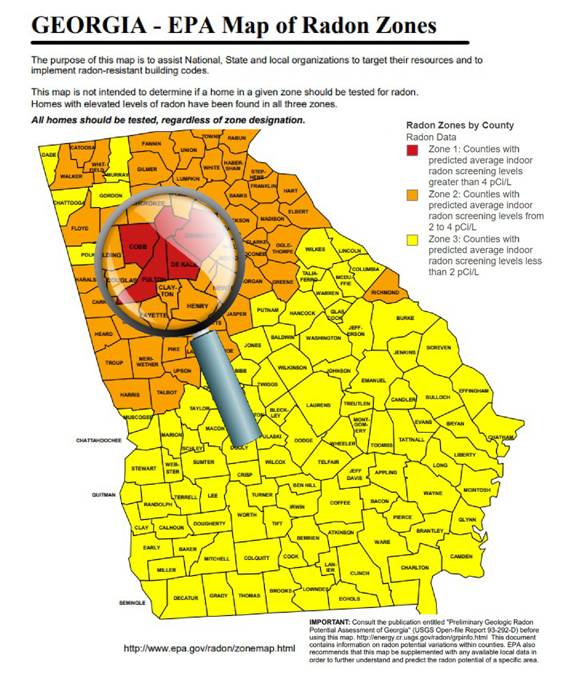 Redcoat Inspections Northwest Atlanta Home Inspections and Testing Services Radon